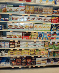 Gluten-Free Section in Aisle 7