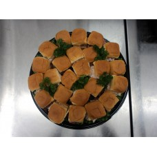 Meat Mini Sandwich Platter - Small